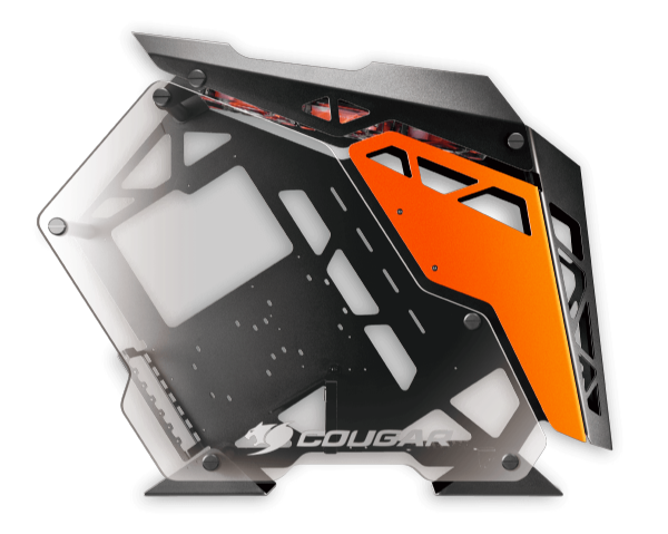 Cougar Conquer Mid Tower Tempered Glass 3x120mm LED